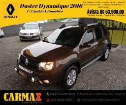 Duster Automática Dynamique 2016 Único Dono Toda Revisada na Renault