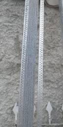 Perfil drywall cantoneira furada tenho 28 peças