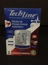 Monitor de pressão arterial automatico tech line
