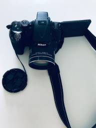 Câmera Nikon Colpix P600 em ótimo estado