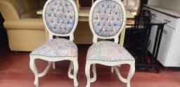6 cadeiras antigas