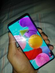 Vendo ou Troco Samsung a51 10 dias de uso