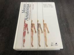 Moore Anatomia Orientada para a Clínica - Capa Dura - 7a Edição