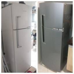Envelopamento e plotagem de mesas e geladeira *