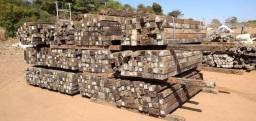 Cruzetas de madeira, plastico e concreto