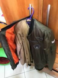 Jaqueta Verde Murgo tamanho G