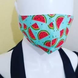 Máscaras em tecido de algodão