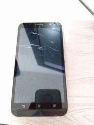 Celular Asus ZenFone tela quebrada