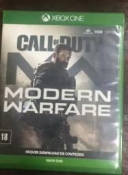 Vendo jogo CalL of Duty.  Xbox one