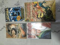 Mangás e quadrinhos diversos!