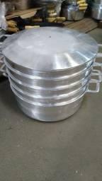 Panela alumínio batido n40