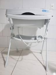 Banheira Com Trocador - Splash! - Peixinho Rosa - Burigotto