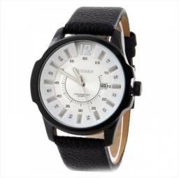 Relógio Masculino Curren Analógico - Branco