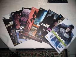 8 revistas capa cartão Batman