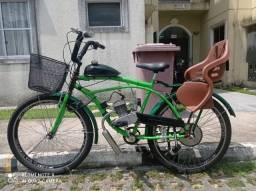 Bike com Motor 2 Tempos