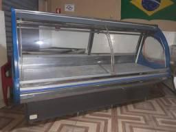 2 Balcão expositor refrigerado para açougue
