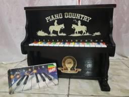 Piano Infantil Hering Original ano 1980