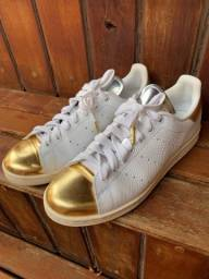 Adidas originals stan smith midsummer metallic