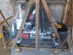 Compressor de ar Chicago pneumáticas 200 litros