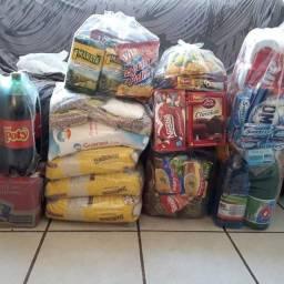 Vendo cesta básica/ não fazemos na promissória