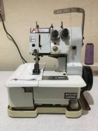 Máquina de Costura Galoneira Com Mesa