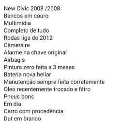 New Civic zerado