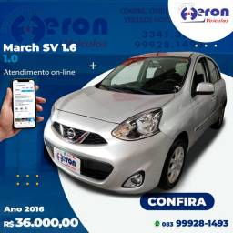 March SV 1.6 2016 Completo