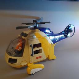 Helicóptero Aventura Imaginext