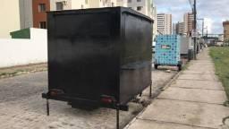 Vendo trailer foodtruck ou alugo