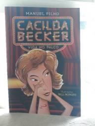 Livro CACILDA BECKER  - VIDA NO PALCO em excelente estado!!!
