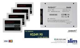 SSD Goldenfir 256GB Novo Preço Promocional