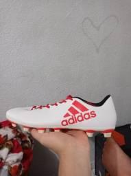 Chuteira Adidas  X 17.4 FXG Campo Grama NÚMERO 43