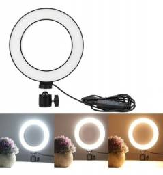 ring light iluminador LED selfie