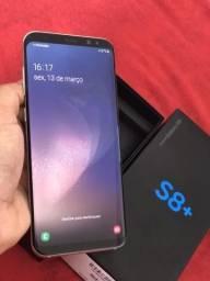 S8+ Plus 64 gigas caixa nota fiscal