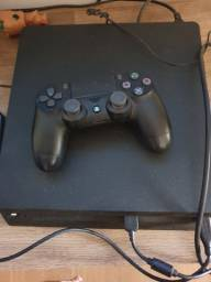 Ps4 Slim 500gb + 6 jogos + 1 controle