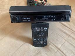 DVD Retratil touch screen Pionner - Pra vender