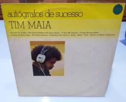 Lp Tim Maia - Autógrafos de sucesso