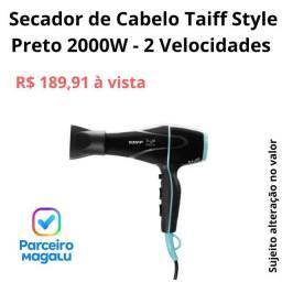 Secador de Cabelo Taiff Style Preto 2000W - 2 Velocidades Preto<br><br>
