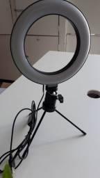 PROMOÇÃO ILUMINADOR LED USB RING LIGHT