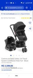 Carrinho e Bebê Conforto Mobi Safity 1st