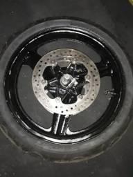 Aro completo com pneu novo