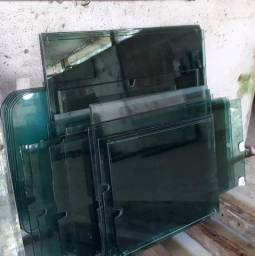 Placas de vidro reutilizáveis