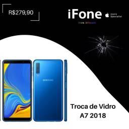 Troca de Vidro A7 2018