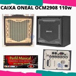 Caixa Acústica Multiuso Oneal Ocm2908 vintage 110w Rms