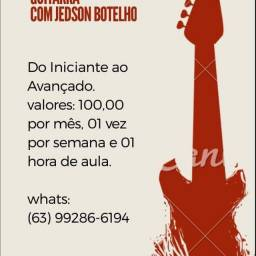 Aulas de Violão e Guitarra.
