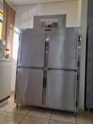 Refrigerador vertical ouro frio