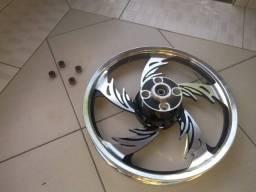 Conjunto de rodas para moto 125
