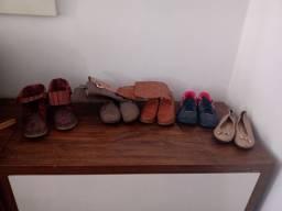 Sapatos em ótimo estado santa felicidade número diversos 5reais cada