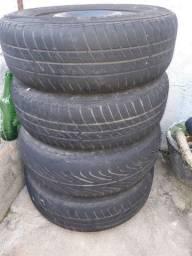 Jogo de rodas aro 13 Fiat