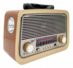 Radio Retro Clássico Bluetooth